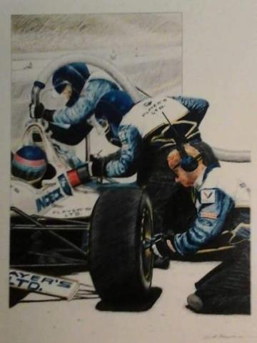 Jaques Villeneuve Indianapolis 500
