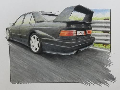 Mercedes 190 evo2